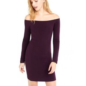 Brand New Express Off The Shoulder Bodycon
